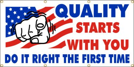 A159 quality starts with you banner