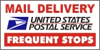 USPS Magnetic Sign